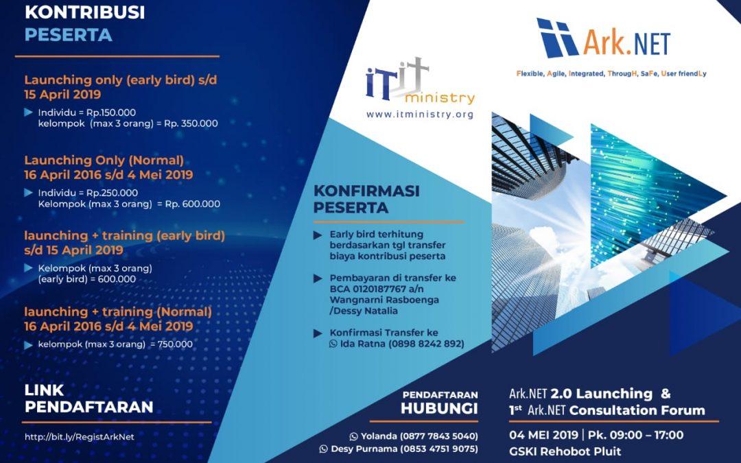 Ark.Net 2.0 Launching & Consultation Forum